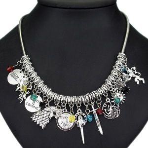 Jewelry - Brand New Game of Thrones Custom DIYCharm Necklace